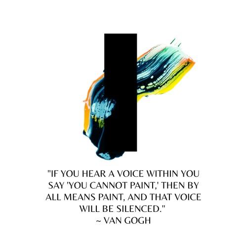 Van Gogh Quote by Jann Alexander ©2014
