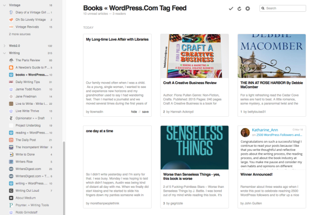 Posts Tagged 'Books' from WordPress.com Reader