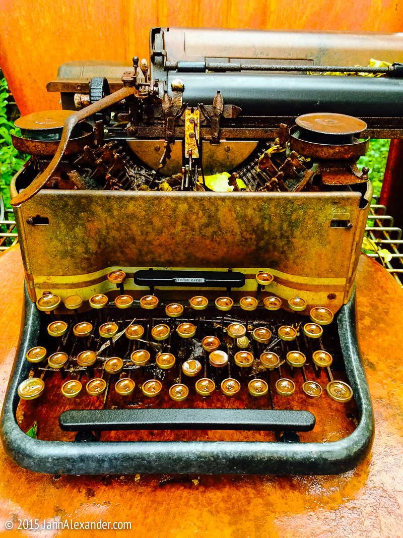 Where Old Typewriters Go to Die