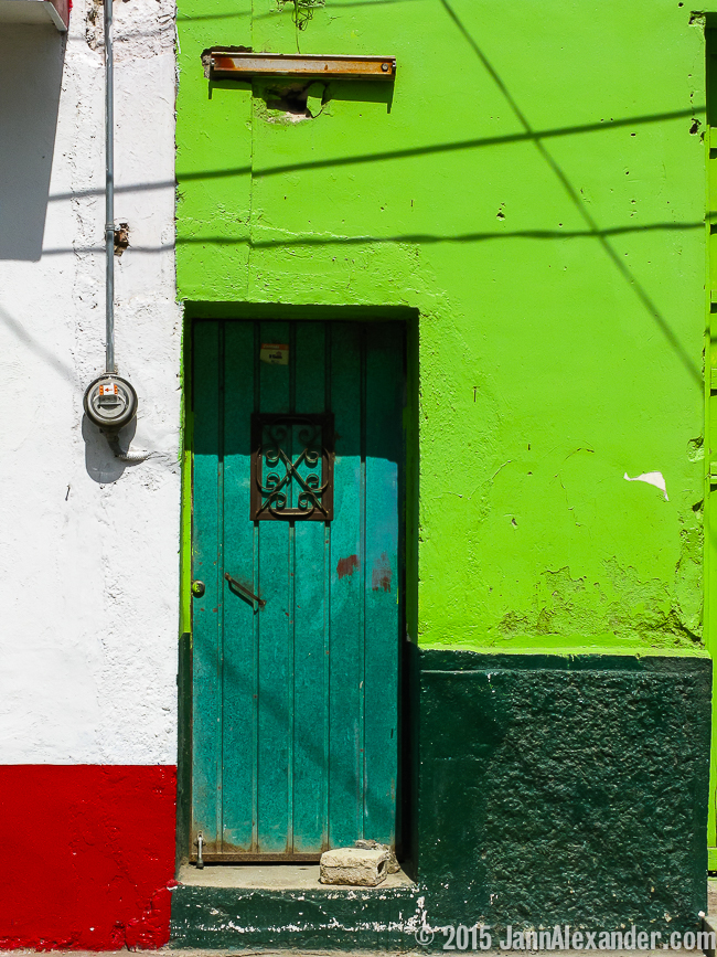 Mondrian in Mexico by Jann Alexander ©2015 Doors