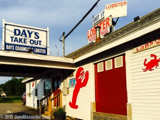 Exit 17: Day's Lobster iPhoneography by Jann Alexander © 2015