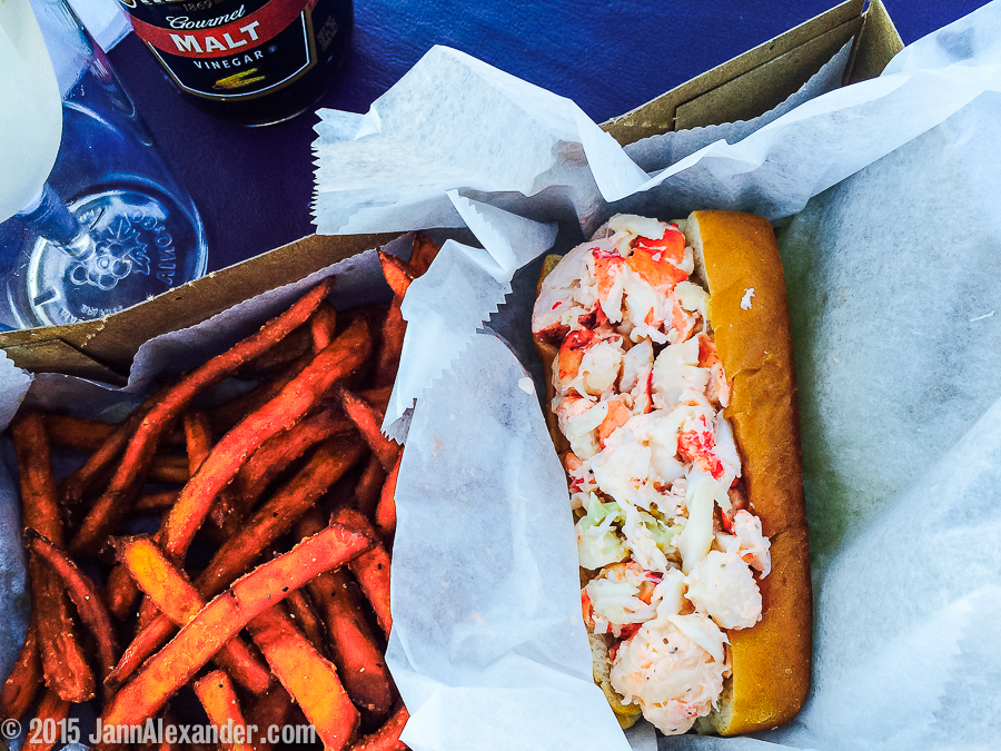 Five Days, Five Lobster Rolls