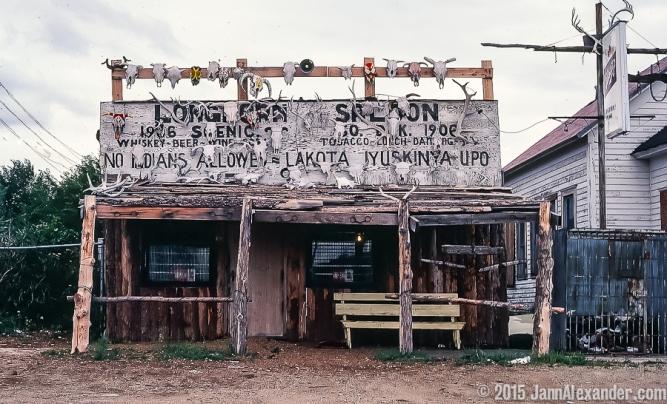 Scenic, South Dakota, 1980 by Jann Alexander © 2015-0332