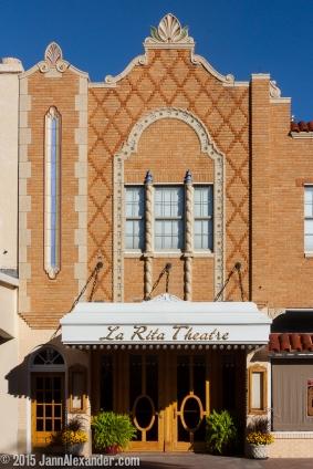 La Rita Theatre, Dalhart, Texas by Jann Alexander ©2015