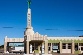 Tower Building, Shamrock, Texas by Jann Alexander ©2015