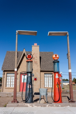 Fill 'er Up in Turkey, Texas by Jann Alexander ©2015