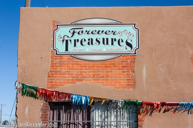 Forever Treasures, Dalhart, Texas by Jann Alexander ©2015
