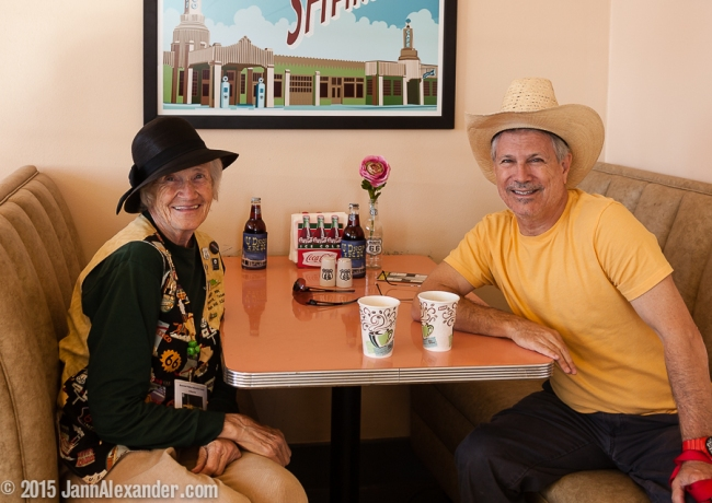 Hazel at U Drop Inn, Shamrock, Texas by Jann Alexander ©2015