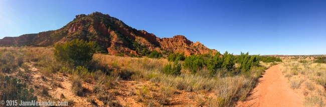 Caprock Panorama | iPhoneography by Jann Alexander ©2015