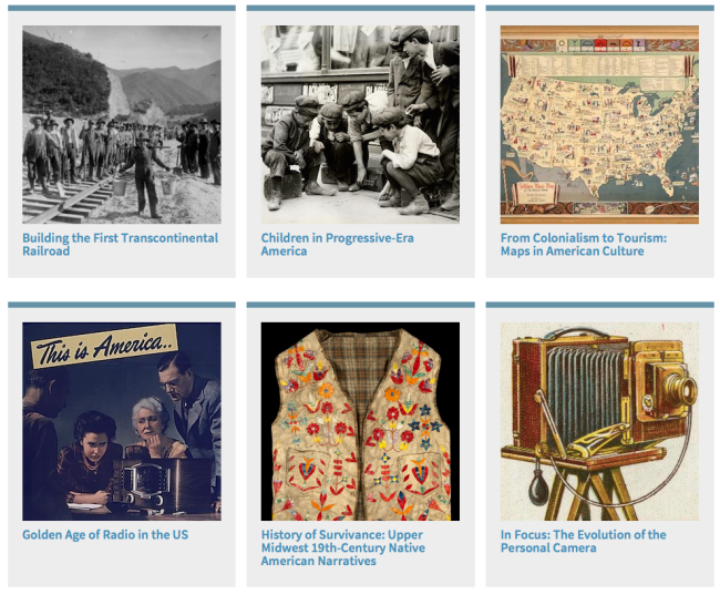 Some Exhibitions at Digital Public Library of America