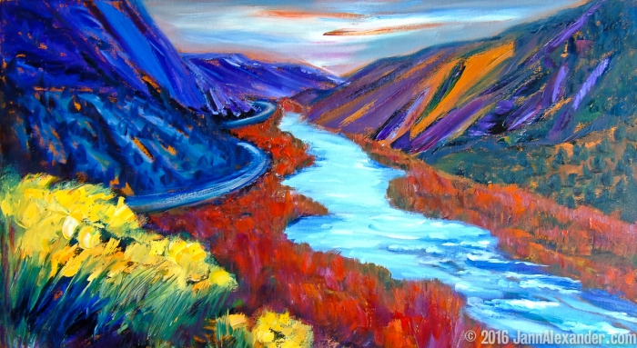 The Grand Rio Grande by Jann Alexander ©2016