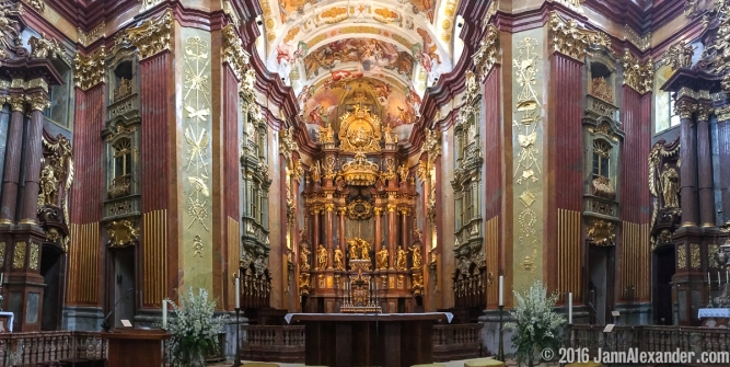 Melk Abbey Pano iPhoneography by Jann Alexander © 2016