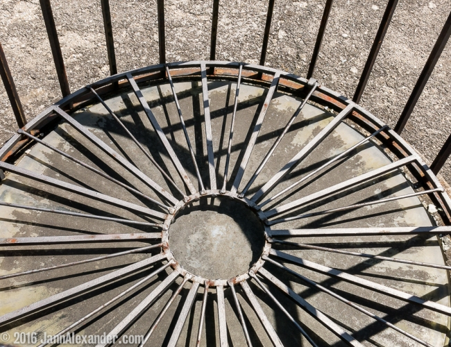 Spokes, Danube Cycle Trip by Jann Alexander ©2016_2769