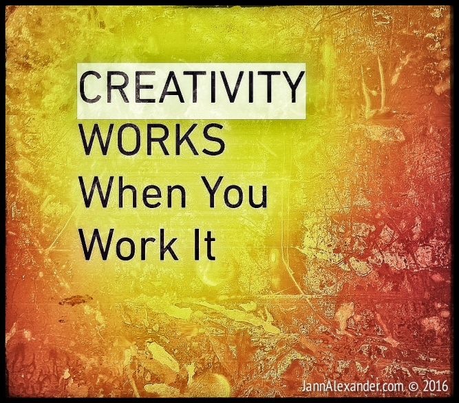 Creativity Works | Jann Alexander ©2016