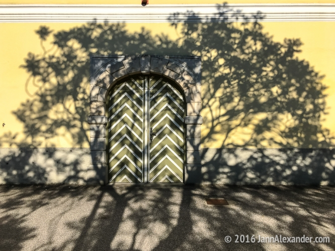 Framed By Shadows, Stift Engelszell   iPhoneography by Jann Alexander © 2016