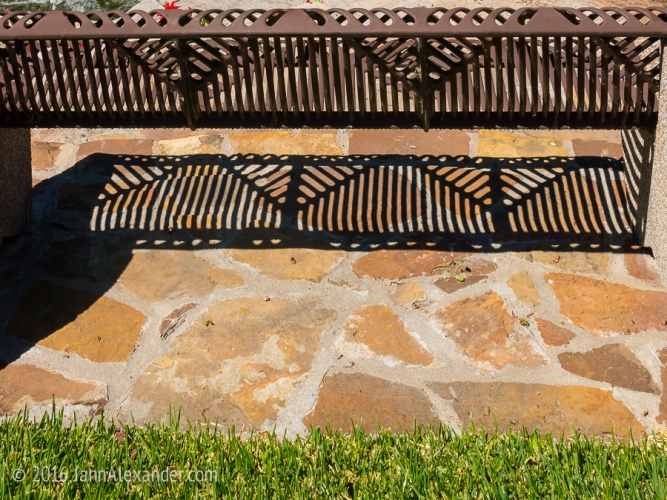 Framed by Patterns in San Saba by Jann Alexander ©2016