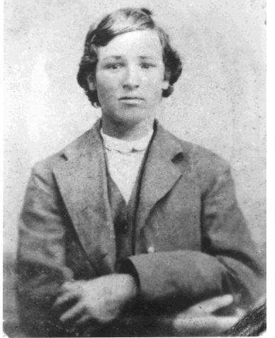 Bam White, 1879, Tintype at age 14